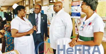 Inspection of Antenatal Care Unit at Ridge Hospital by New Registrar