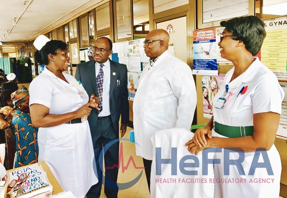 Inspection of Antenatal Care Unit at Ridge Hospital by New Registrar